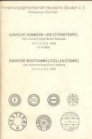 Dänische Nummern Und Sternstempel Mickel, Wiebaden 1980 92 Seiten - Handbücher