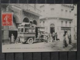 BZ - Algerie - MOSTAGANEM - L'arrivée De L'automobile D'oran - Mostaganem