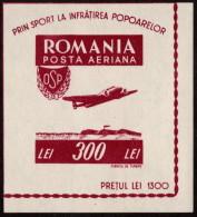 ROM SC #CB8 MNH 1946 Lockheed 12 Electra CV $17.50 - Unused Stamps