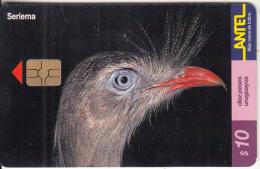 URUGUAY - Bird, Seriema(150a), 10/00, Used - Birds