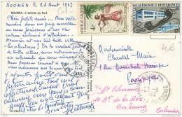 Nouvelle Caledonie - Noumea - L'entree Du Port 1963 - Nouvelle Calédonie