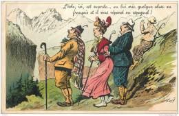Illustration De Henriot 1906 - Echo - Humour Caricature - Henriot