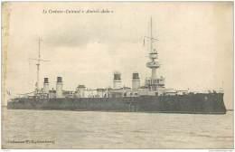 Bateau - Le Croiseur Cuirasse Amiral Aube 1919 Cherbourg - Guerre