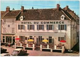 71 - SAINT LEGER SUR DHEUNE - Hotel Di Commerce - Citroen DS - France