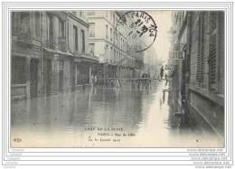 75007 - PARIS - Crue De La Seine 1910 - Rue De Lille - Arrondissement: 07