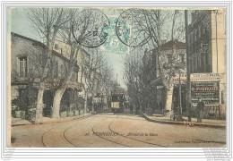 66 - PERPIGNAN - Avenue De La Gare (en Couleur) - Perpignan