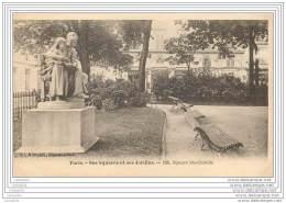 75007 - PARIS - Ses Squares Et Ses Jardins - Square Ste Clotilde - Arrondissement: 07