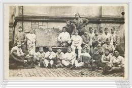 Militaria - Carte Photo Du 6e Regiment De Cuirassiers - Paris Ou Sainte Menehould - Regimientos