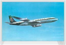 Aviation - Lot De 4 Cartes De La Cie OLYMPIC AIRWAYS - Boeing Et Airbus - Format Cpa - 1946-....: Modern Era