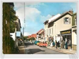 50 - BARNEVILLE - Avenue De La Gare - CPSM 10x15 - Autos - Barneville