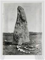 Photo De Presse - Le Morbihan - Menhir Pres De Quiberon - Lieux