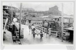 Press Photo - Japan - Sazanami Bridge In Yokohama In Sept 1923 - Lieux