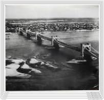 Press Photo - Russia - Ukrainia - Kiev - The Nicholas Suspension Bridge Over The Dnieper In 1902 - Lieux