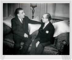 Press Photo - Turkey - Turkish Mission In London - Politician And Diplomatist 1939 - Personnes Identifiées