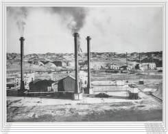 Press Photo - IRAN - Abadan Oil Refineries - Raffinerie De Petrole - Lieux
