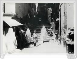 Press Photo - ALGERIE - Alger - Une Rue - Places
