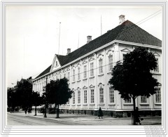 Press Photo - NORWAY - NORGE - Trondhjem Trondheim - Occupied By The Nazis - The King's Palace In 1940 WW2 - Lieux