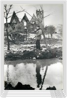 Press Photo - NORWAY - NORGE - The Church Of Namsos After Bombardement By Nazi Bombers 1940 - WW2 - Guerre, Militaire