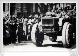 Press Photo - GREECE - Greek Motorised Units Passing Through Athens - Greek-Italian War 1941 WW2 - Guerra, Militari