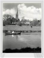 Press Photo - UK - Salisbury Cathedral Seen Across The Avon - Lieux