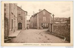 12 - CAMPAGNAC - Place Du Triadou 1938 - France