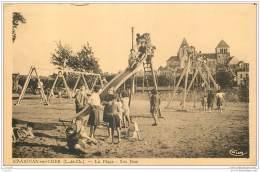 41 - SAINT AIGNAN SUR CHER - Les Jeux Sur La Plage (enfants Animee) - Saint Aignan