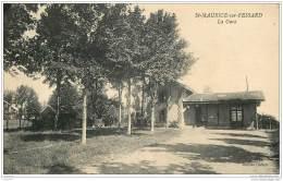 45 - SAINT MAURICE SUR FESSARD - La Gare En 1945 - France