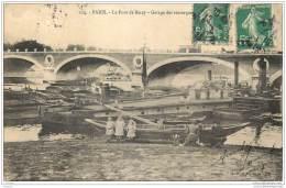 75012 - PARIS - Garage Des Remorqueurs Au Pont De Bercy - Edit LF Et V 124 - Arrondissement: 12
