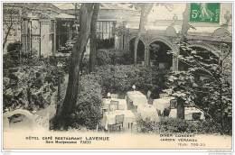 75014 - PARIS - Hotel Cafe Restaurant LAVENUE - Gare Montparnasse - Jardin Veranda - Arrondissement: 14