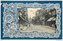 75015 - PARIS - Rue Du Commerce 1911 (contour Dentelle) Edit Honore - Arrondissement: 15