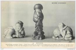 75016 - PARIS - Musee D'Ennery - NETZKES - Antiquites Asiatiques : Jeunes Femmes - Arrondissement: 16