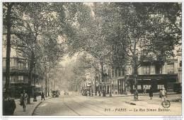 75019 - PARIS - La Rue Simon Bolivar En 1940 - District 19