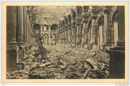 75 - PARIS - Guerre 1870 - Hotel De Ville - Salle Des Fetes Apres L'incendie Mai 1871 - France