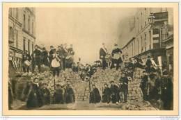 75 - PARIS - Guerre 1870 - Barricade De La Rue Basfroi Et Rue De Charonne 18 Mars 1871 - France