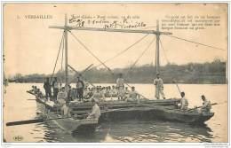 78 - VERSAILLES - 1er Genie - Pont Volant Vu De Cote - Soldats Beau Plan 1917 - Versailles