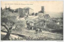83 - LES ARCS - Chateau De Villeneuve Cote Ouest 1909 - Les Arcs