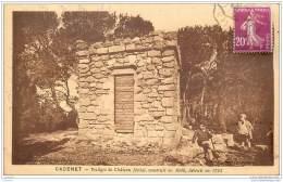84 - CADENET - Vestiges Du Chateau Feodal Detruit En 1793 - Cadenet