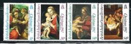 """British Indian Ocean Territory      """"Christmas 1992-Paintings""""     Set   SC# 128-31   MNH - British Indian Ocean Territory (BIOT)"""