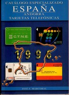 CATALOGO DE TARJETAS TELEFONICAS DE ESPAÑA Y ANDORRA 1996 - USADO, EN BUEN ESTADO. - Phonecards