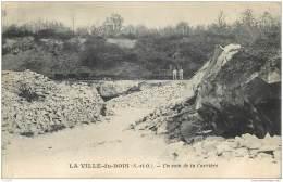 91 - LA VILLE DU BOIS - Un Coin De La Carriere 1929 - Autres Communes