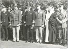 Militaria - Photo Du General Eisenhower En France En 1944 - Peut Etre A Cherbourg WW2 ? - Guerra, Militari
