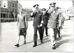 Militaria - Photo Du General Eisenhower En France En 1944 - Peut Etre A Cherbourg ? - Guerra, Militari