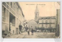 12 - LAISSAC - La Grande Rue (animee) - France