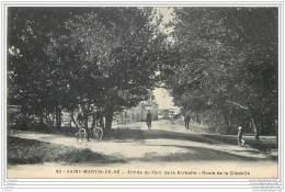 17 - SAINT MARTIN DE RE -  Entree Du Parc De La Barbette (cyclistes) - Ile De Ré
