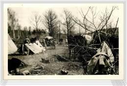 55 - VERDUN - Photo Originale D'un Campement Militaire Francais Ou Allemand En 1916 Ou 1917 - Krieg, Militär