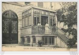 69 - COURS - Veranda - Grande Rue - 1909 Animee - Cours-la-Ville