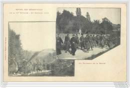 Militaria - Revue Des Reservistes De La 11e Division Le 26 Octobre 1899 Par Bergeret - Manoeuvres