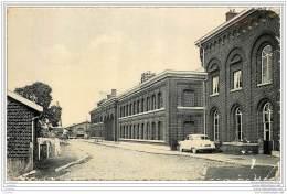 Belgique - Aulnois / Quevy - La Gare Internationale 1955 - Belgique