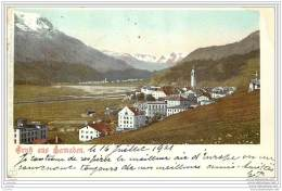 Suisse - Gruss Aus Samaden 1901 - GR Grisons