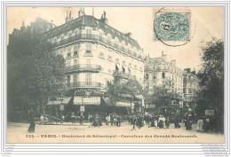 75002  - PARIS - Boulevard Sebastopol - Carrefour Des Grands Boulevards - Arrondissement: 02